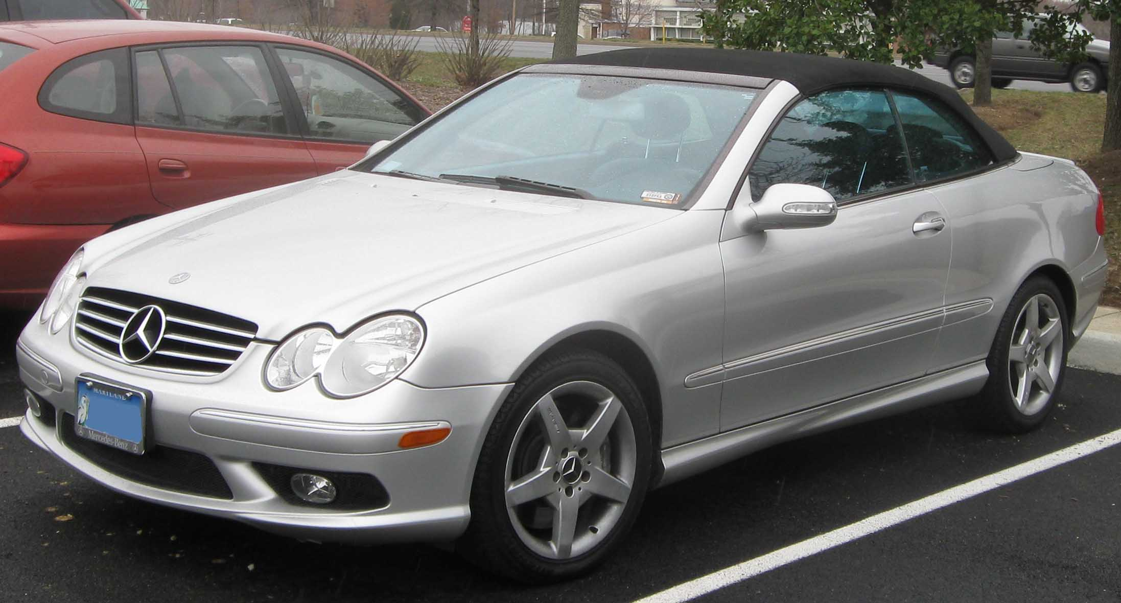 Mercedes benz clk class for 2007 mercedes benz clk550