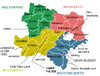 Map indicating the districts of Lower Austria