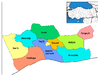Districts of Mardin