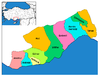 Districts of Mersin