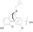 Chemical structure of Cyprenorphine.