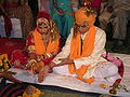 Hindu marriage ceremony offering.jpg