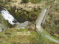 River Severn,Wooden footbridge,Break-its-neck-falls - geograph.org.uk - 812439.jpg