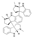 Chemical structure of Hodgkinsine.