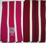 Two Corpus scarves