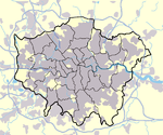 Greater London Outline