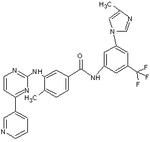 Nilotinib chemical structure.PNG