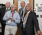 Charles Bolden and colleagues wait for news from MESSENGER