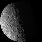 A South Polar Projection of Mercury