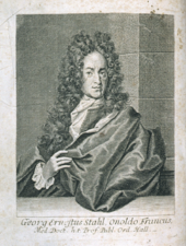 Old drawing of a man wearing a large curly wig and a mantle.
