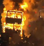Double-deck burning in 2011 england riots.jpg