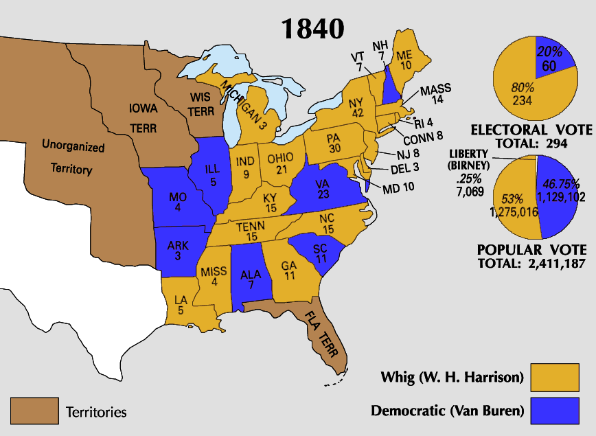 United States presidential election 1840