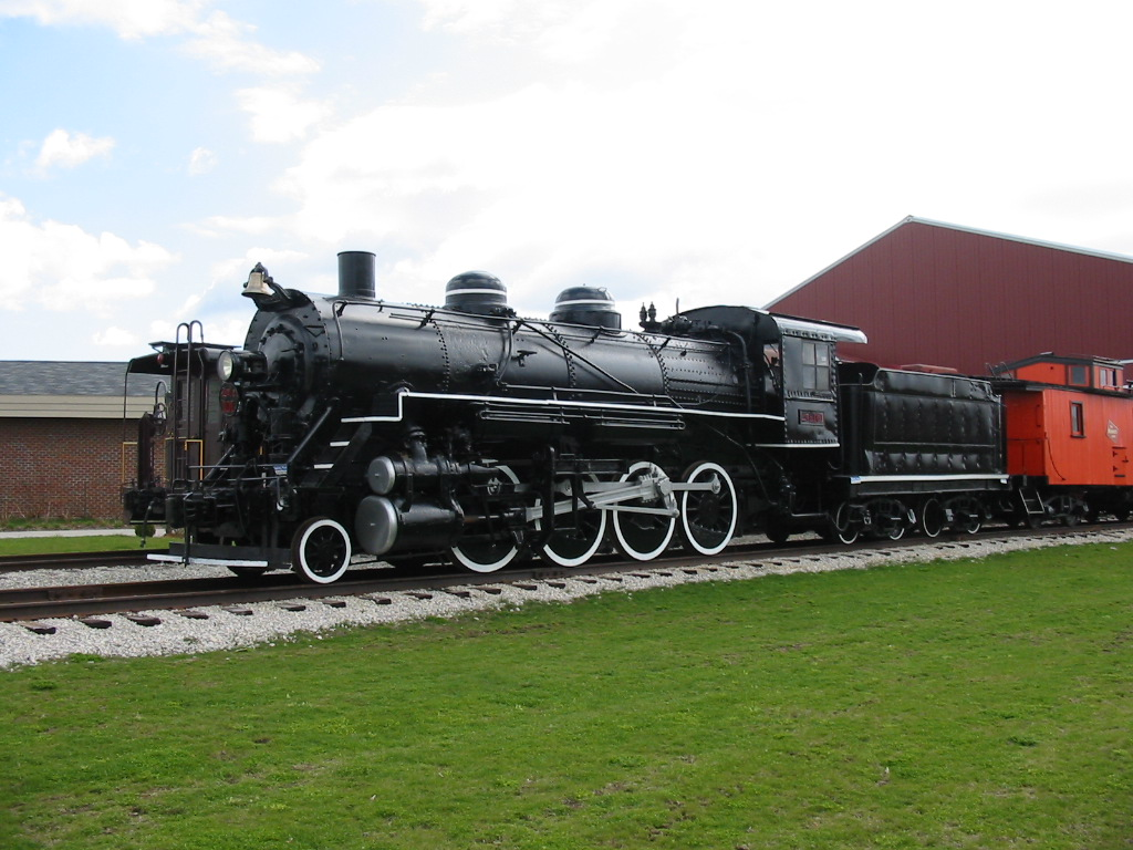 2 8 0 Consolidation Type Locomotives: National Railroad Museum