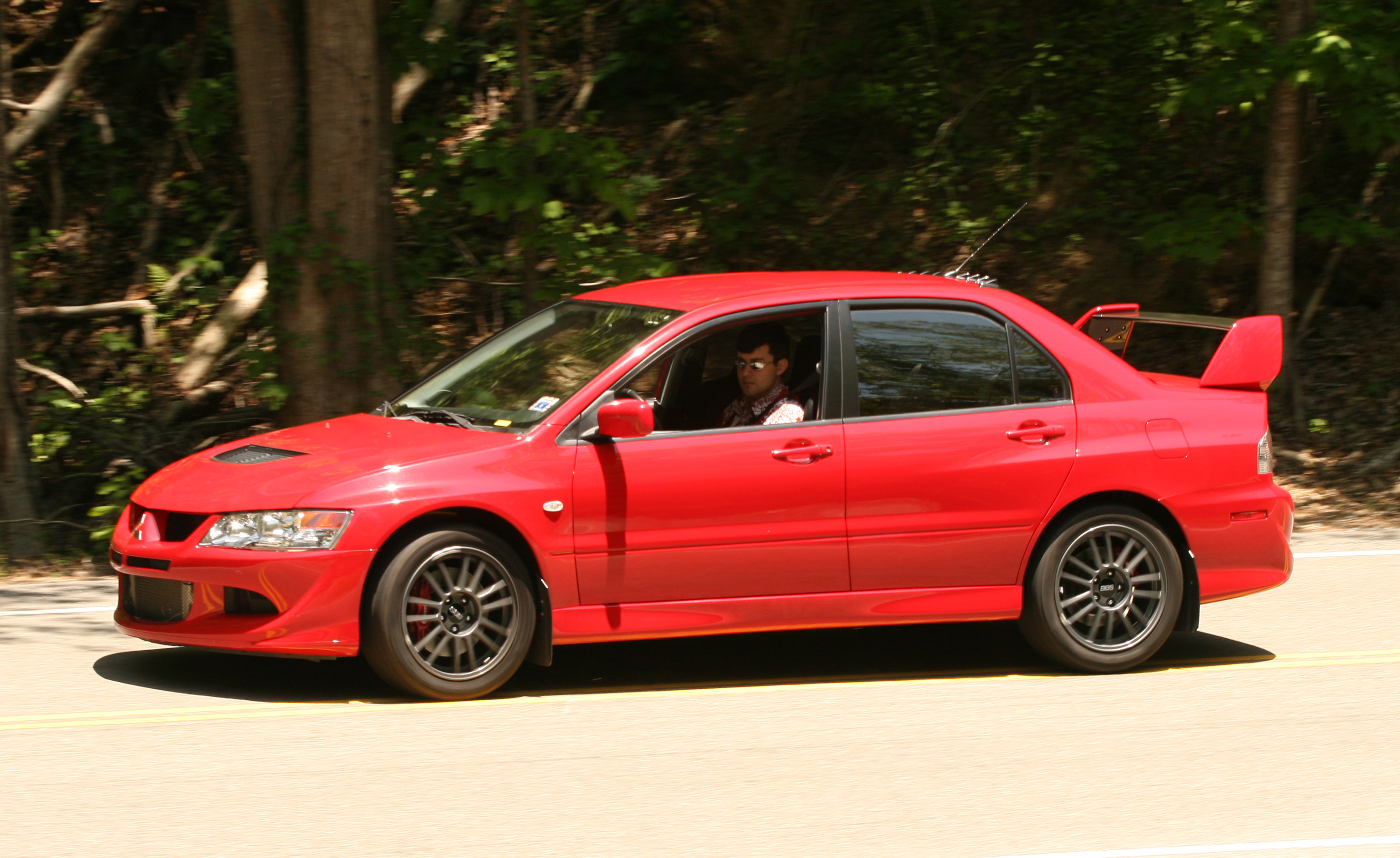 2005 Mitsubishi Lancer Evolution VIII MR (US Spec) at Dvx cnceal's Gap,  North