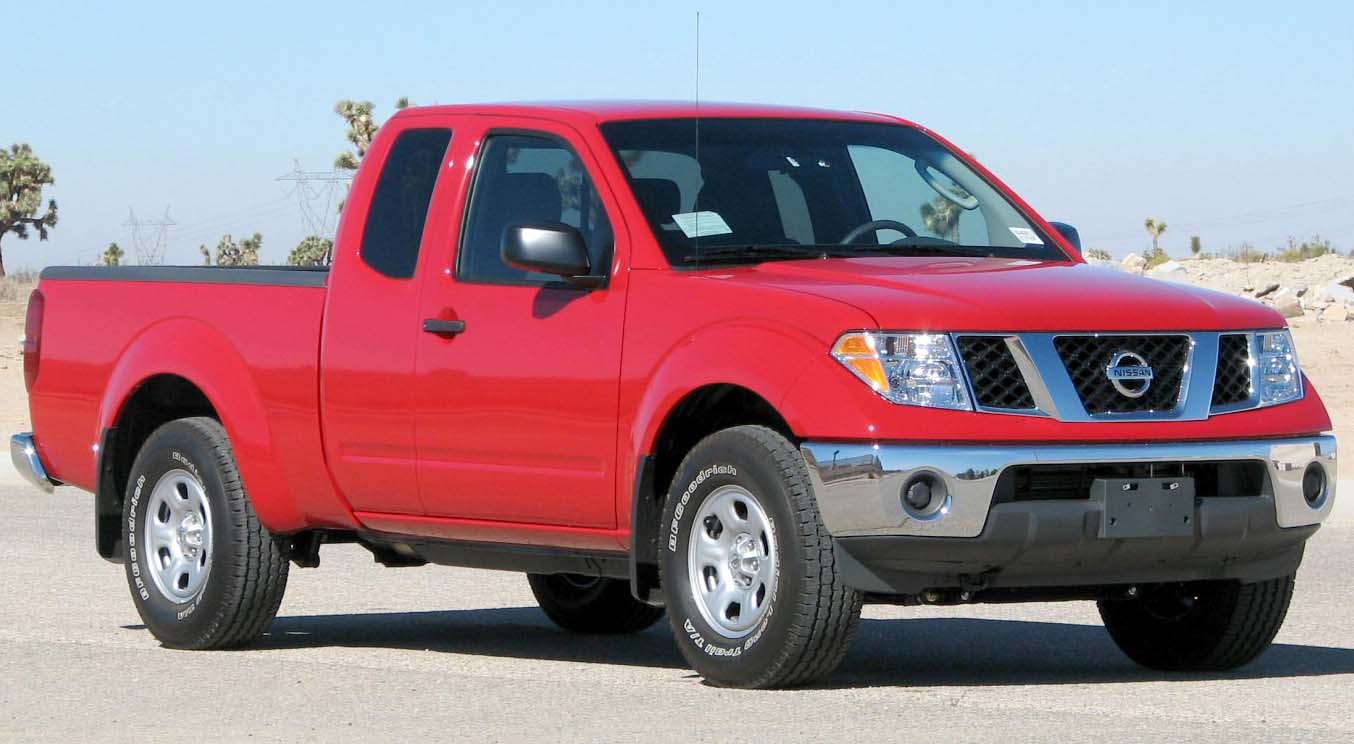 2008 Nissan Frontier extended cab (US)