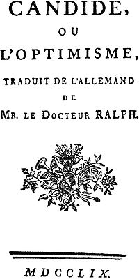 Title page of the 1759 edition published by Sirène in Paris