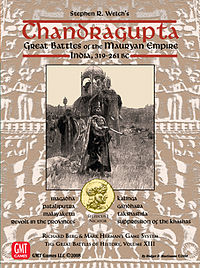 Chandragupta (board game) Box Cover c 2008 RBM Studios.jpg