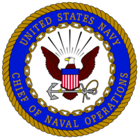 Seal of the Chief of Naval Operations.