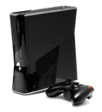 Xbox 360 S with controller