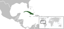 Location on the world map