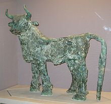 Statue of a bull