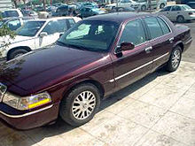 Middle Eastern 2003 Grand Marquis LS, equipped with the Export Handling Package featuring '03-'05 LSE wheels