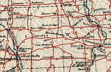 When the U.S. Highway System was created in 1926, it followed a grid pattern which linked population centers. As a result, many highways were spaced far apart.