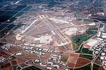 View of the airfield in 1993}}