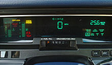 photograph of Grand Marquis optional digital instrument cluster and trip computer