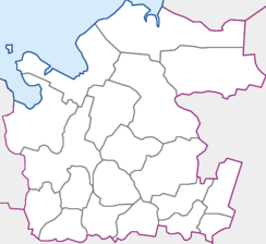 Mirny is located in Arkhangelsk Oblast
