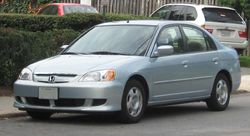 2003 Honda Civic Hybrid (US)