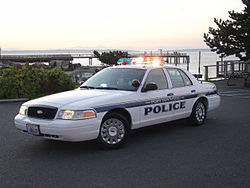 2004 Ford Crown Victoria Police Interceptor of the Port Townsend, Washington, Police