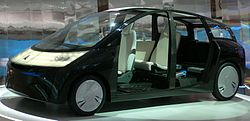 Toyota 1/X at the 2007 Tokyo Motor Show