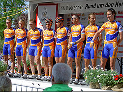 The Rabobank team in 2005