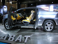 Toyota A-Bat at the 2008 Chicago Auto Show