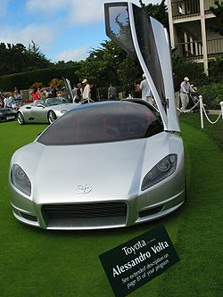 The Alessandro Volta at the Pebble Beach Concours d'Elegance in 2004