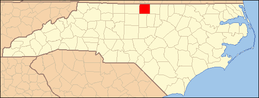 North Carolina Map Highlighting Caswell County.PNG
