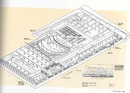Architectural diagram of the basement