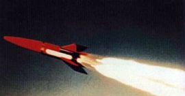 Pilot rocket after launch