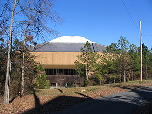 Dean Smith Center, from the rear