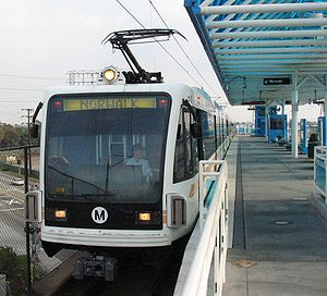 Image of Green Line train.