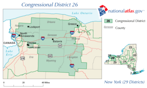 New York District 26 109th US Congress.png
