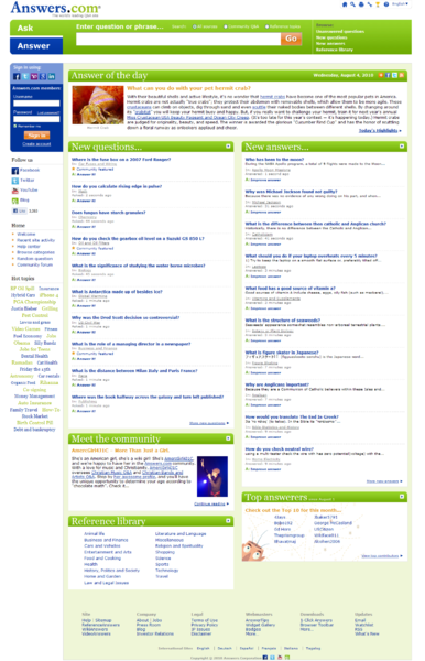 Answers.com home page 2010.png