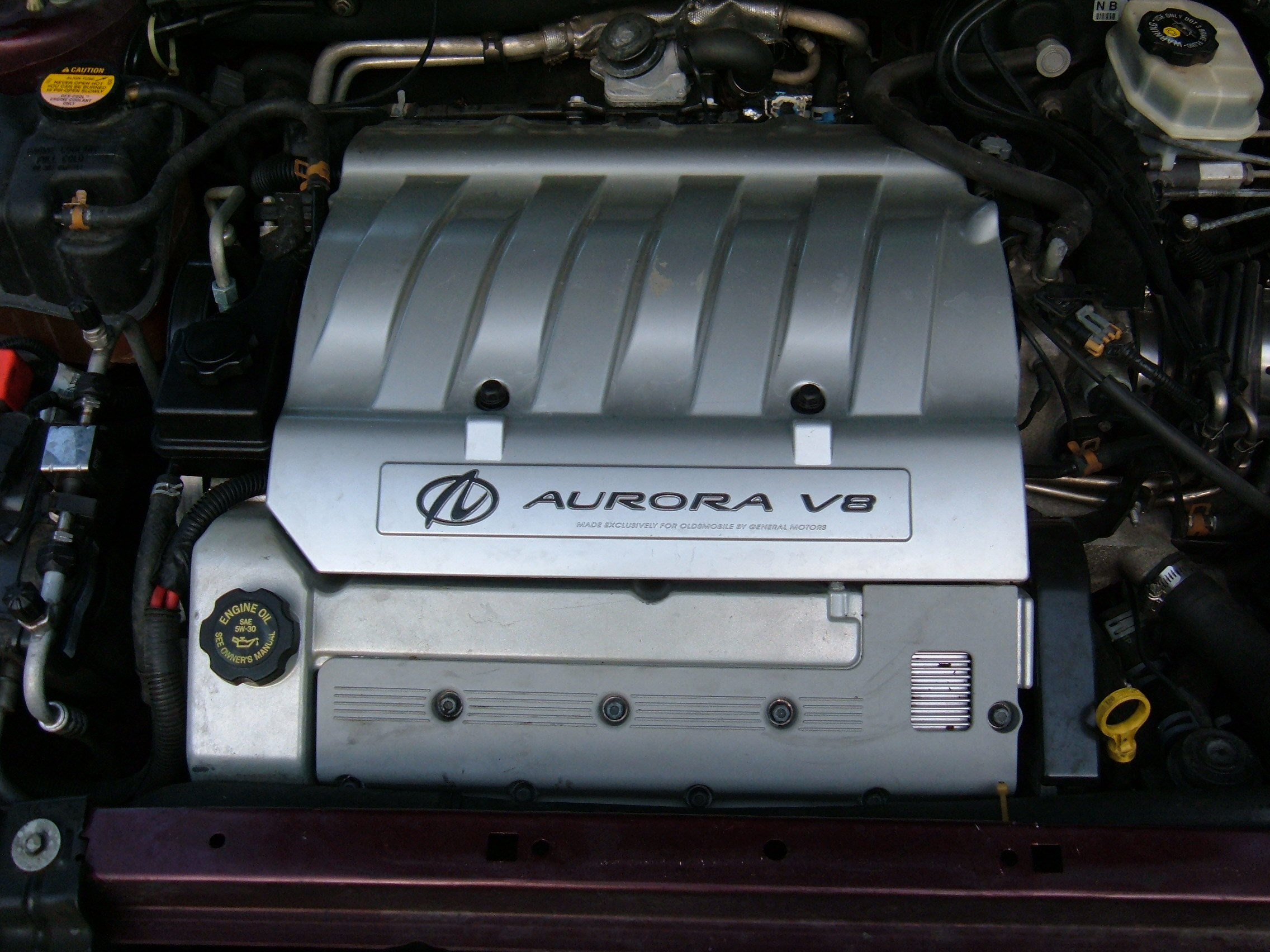 An L47 inside an Aurora's engine bay