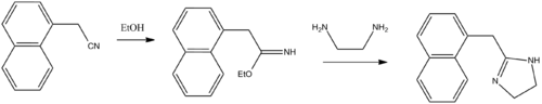 Naphazoline synthesis.png