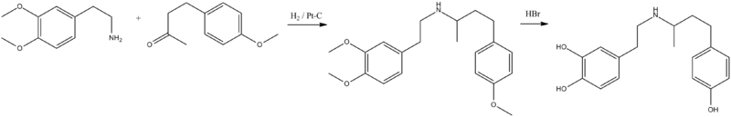 Dobutamine synthesis.png