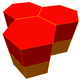 Hexagonal prismatic honeycomb.png