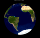 Lunar eclipse from moon-2051Apr26.png