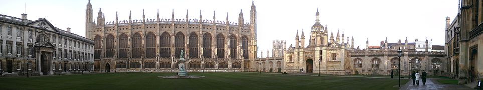 Great Court of King's College.