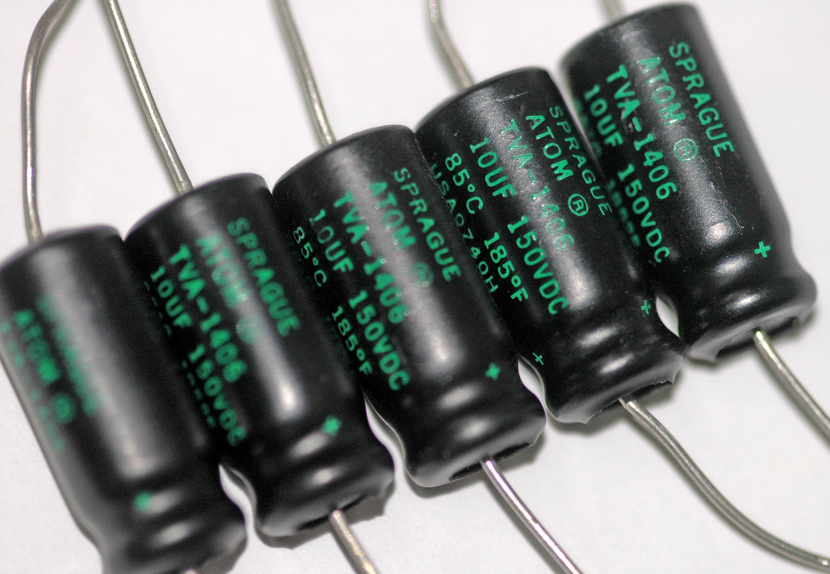 Capacitor Capacitors In Series And Circuits Axial Electrolytic